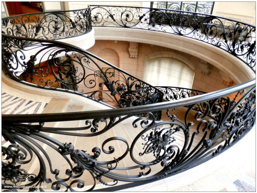 Escalier Petit Palais Paris - SAMARCH Ingénierie en serrurerie d\'art